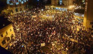 ניסיון דריסה של מפגינים; 11 נעצרו בבלפור בעת המחאה נגד שלטון הימין המושחת