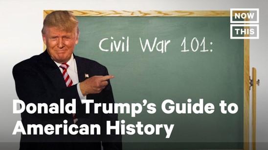 טראמפ נגד הוראת ההיסטוריה