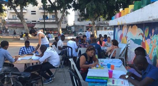 """פגישת פעילים מקוונת של 'אנחנו העיר' נגד הכוונה להרוס את גינת לוינסקי בדרום ת""""א"""