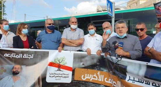 הפגינו מול בית חולים קפלן: חשש כבד לחיי העציר מאהר אלאח'רס