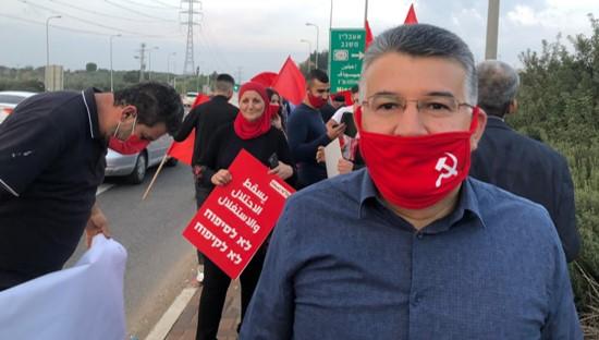 אלפים הפגינו נגד ממשלת הימין ברחבי הארץ; מחאות הדגלים האדומים נערכו בצפון