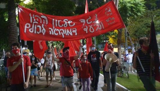 אלפים רבים צעדו נגד נתניהו ברחבי הארץ; שוב הותקפו מפגינים במספר ערים