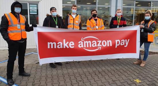 """בדומה לעמיתיהם באירופה: עובדי ענקית המסחר המקוון אמזון מתאגדים בארה""""ב"""