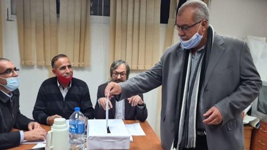 """מוחמד ברכה נבחר ליו""""ר ועדת המעקב העליונה; יפגינו נגד גל האלימות"""
