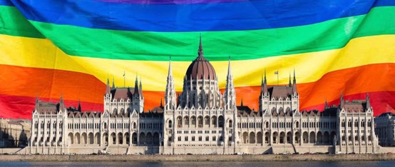 """מחאות ברחבי העולם: ממשלת הונגריה הימנית העבירה חקיקה מפלה כלפי הלהט""""ב"""