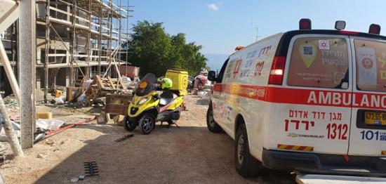 ה-7 ביישוב ערבי מתחילת השנה: פועל נפטר לאחר תאונת עבודה באתר בנייה בטייבה