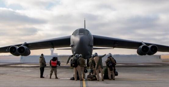 פעם שנייה תוך שבועיים: מפציצים אמריקאים עברו מעל שמי ישראל בדרכם למפרץ הפרסי