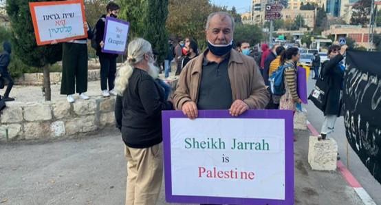 עשרות הפגינו בשייח' ג'ראח וקראו לעצור את גירוש המשפחות הפלסטיניות