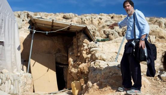 ניסו לפגוע ברב אריק אשרמן בעת ביקור תושבים פלסטינים בשטחים הכבושים