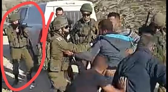 """צעיר פלסטיני לא חמוש נפצע אנוש מירי של חייל צה""""ל בדרום הר חברון"""