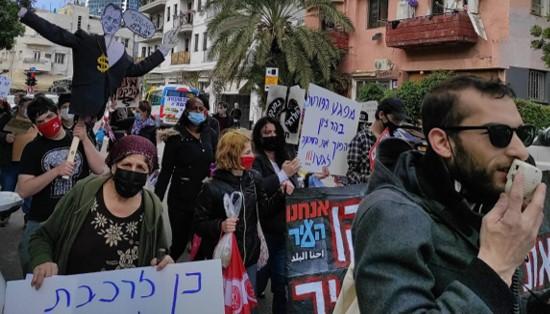 תושבי דרום תל-אביב הפגינו בדרישה לפנות את התחנה המרכזית כמובטח