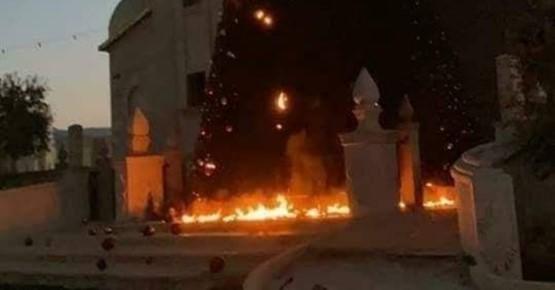 שני צעירים נעצרו בחשד שהציתו עצי חג המולד ליד הכנסיות בסכנין