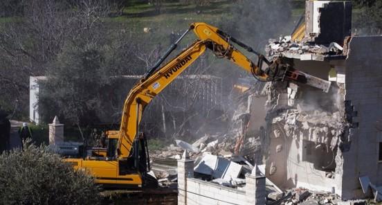 """על פי נתונים האו""""ם: מאז תחילת השנה כוחות הכיבוש הרסו 227 מבנים בבעלות פלסטינית"""