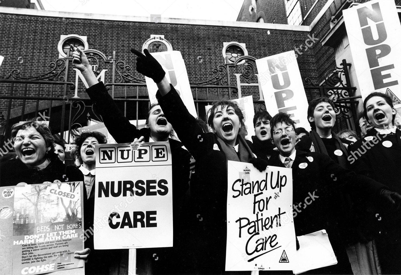 לפני 33 שנים כ2500 אחיות באנגליה פתחו בשביתה היסטורית, שירות הבריאות הציבורי גם היום לא עומד בעומס