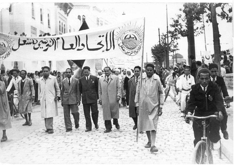 ב1 לפברואר 1952 האיחוד הכללי של עובדי תוניסיה פתח בשביתה כללית למען עצמאות תוניסיה