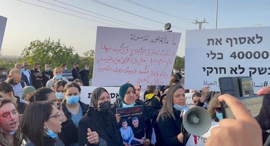 הפגנות בג'לג'וליה בעקבות רצח הנער; בשישי מחאה המונית נגד אזלת ידה של ממשלת הימין