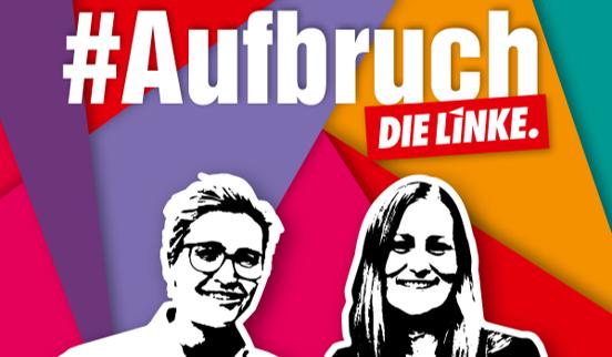 לראשונה: שתי פעילות נבחרו כדי לעמוד בראש מפלגת השמאל הגרמני די לינקה