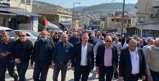 בגליל ובמשולש: אלפים השתתפו בתהלוכות ובעצרות לציון 45 שנה ליום האדמה