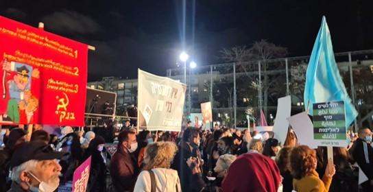 אלפים הפגינו נגד האלימות ולמען החיים בכיכר רבין; שני צעירים נרצחו בקלנסואה
