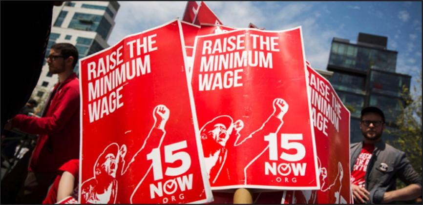 """המאבק על שכר המינימום בארה""""ב: ביידן לא מסוגל לממש את הבטחתו"""