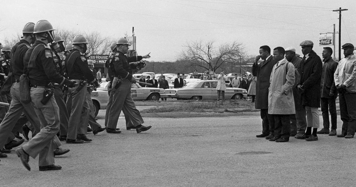 """הצעדה מסלמה למונטגמרי אלבמה (ארה""""ב), מרטין לותר קינג והמאבק לשיווין, חירות וצדק"""