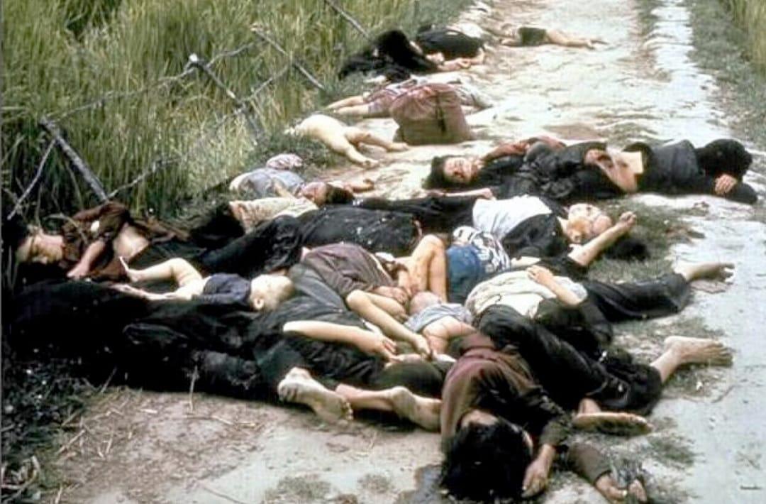 טבח מיי ליי במדינת ויאטנם הסוציאליסטית, ב-16 במרץ חיילים אמריקאים טבחו במאות חקלאים ויאטנמים