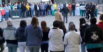 הצוות הרפואי בבית החולים האיטלקי בנצרת פתח במחאה נגד ההנהלה