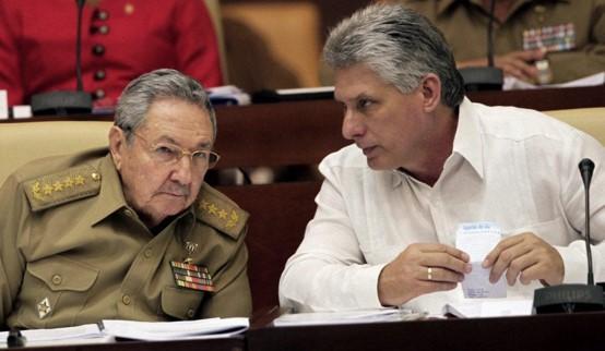 הנשיא מיגל דיאס-קאנל נבחר להנהיג את המפלגה הקומוניסטית הקובנית