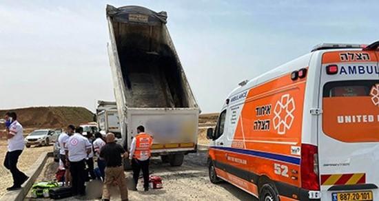 פועל נהרג בנתיבות; משמרות מחאה ביום ו' נגד ריבוי ההרוגים בתאונות בניין