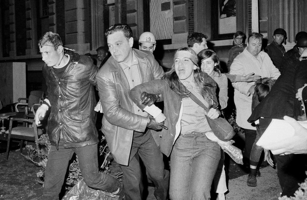 1968 מאבקי הסטודנטים לצדק ושיווין גזעי ומגדרי, שלום עולמי וסיום המלחמה בויאטנם
