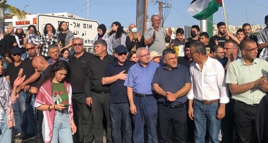 הפגנות ביישובים הערביים בעקבות הדיכוי המשטרתי הברוטלי במזרח ירושלים