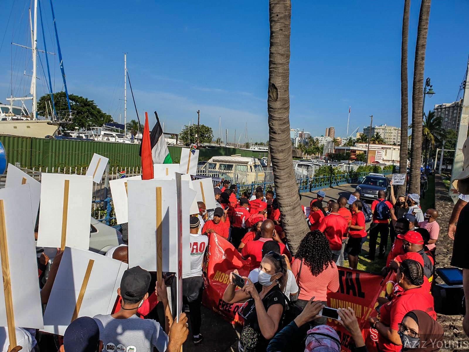 סולידריות מעמדית: גם עובדי נמל דרבן סירבו לטפל במטען המיועד לישראל