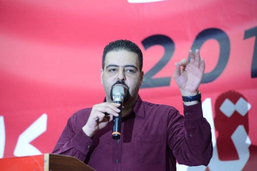 בעיצומה של מסיבת עיתונאים על המעצרים הפוליטיים בציבור הערבי דווח על מעצרו של רג'א זעאתרה