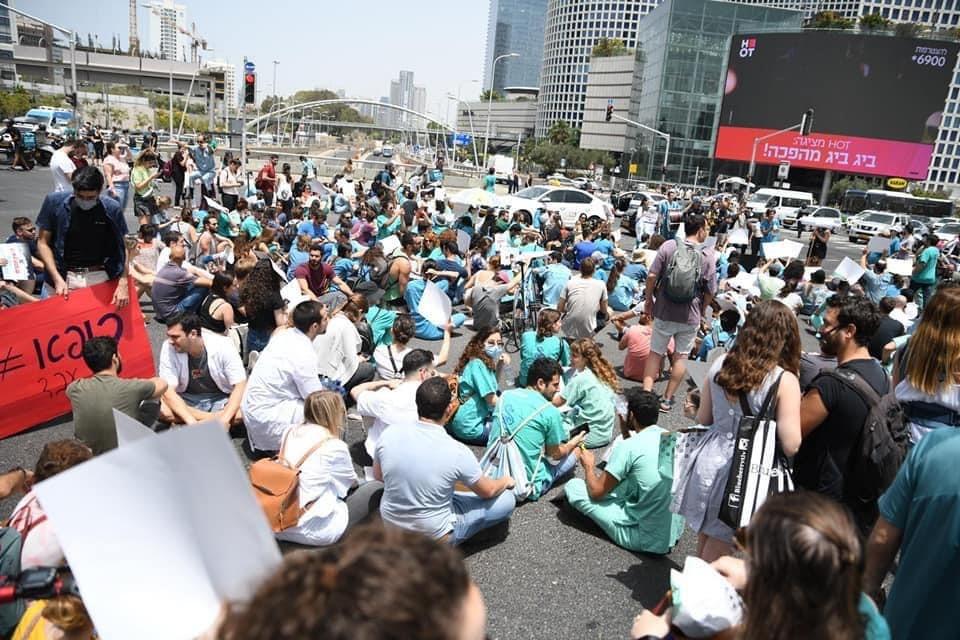 עובדי בתי החולים יפתחו בשביתה; הישג למתמחים במערכה נגד התורניות של 26 שעות