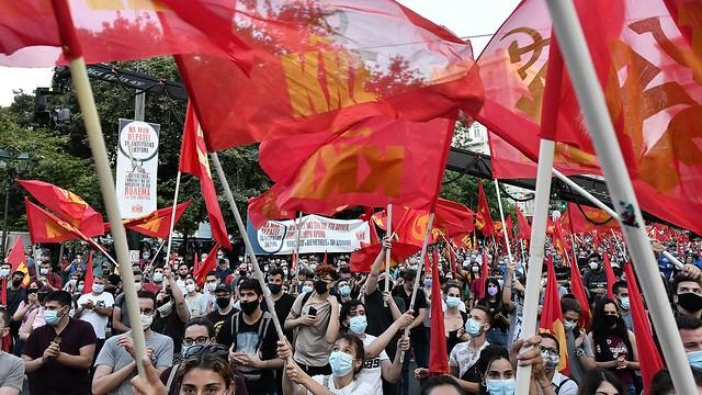 השנייה תוך שבוע: לקראת שביתה כללית נוספת ביוון נגד מדיניות ממשלת הימין