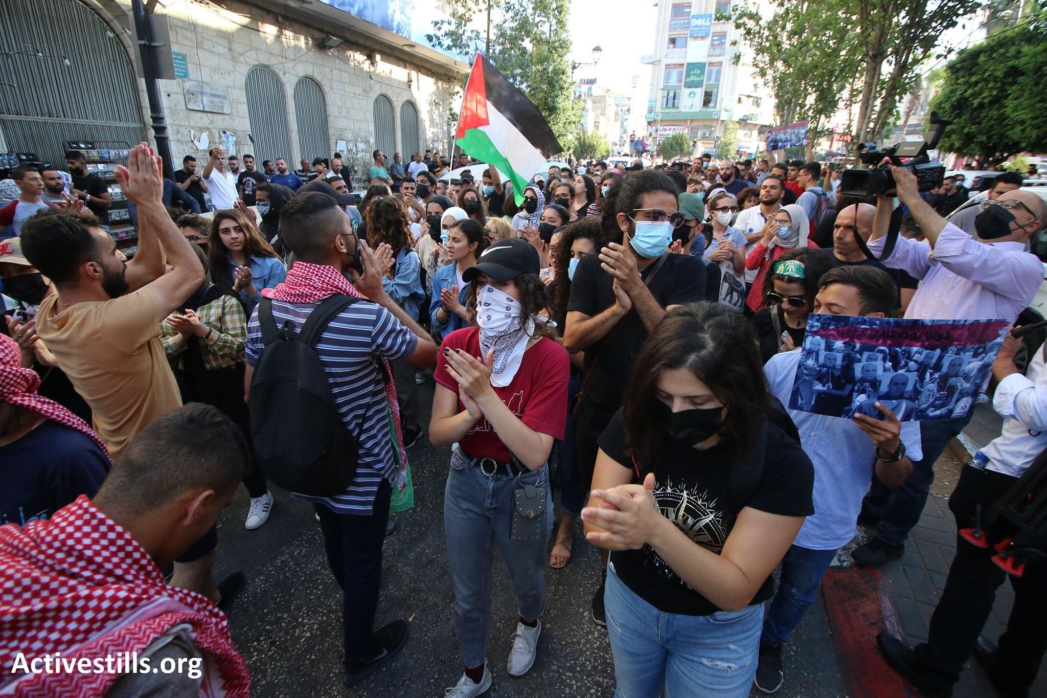 נמשכות המחאות בעקבות רצח בנאת: הקומוניסטים החליטו לנטוש את ממשלת הרשות הפלסטינית