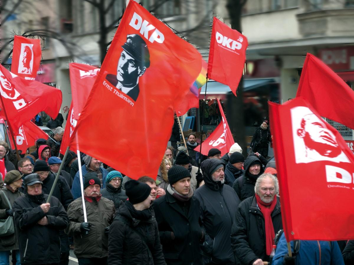 נאסר על המפלגה הקומוניסטית הגרמנית להשתתף בבחירות לפרלמנט שיתקיימו בספטמבר הקרוב