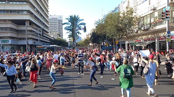 שאשא-ביטון, תתחילי לעבוד עבורנו: מאות עובדות מעונות יום הפגינו במרכז תל אביב