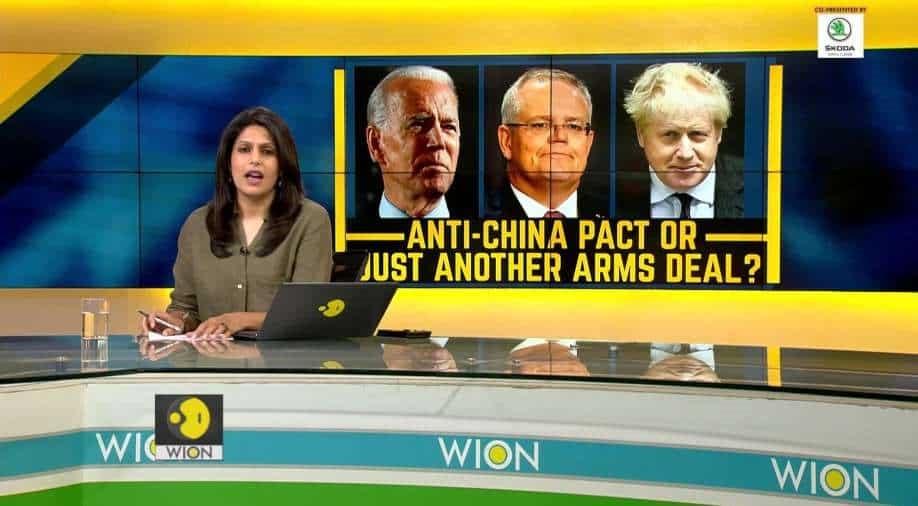 """זעם בסין בעקבות הברית הצבאית החדשה שחתמה ארה""""ב עם אוסטרליה ובריטניה"""