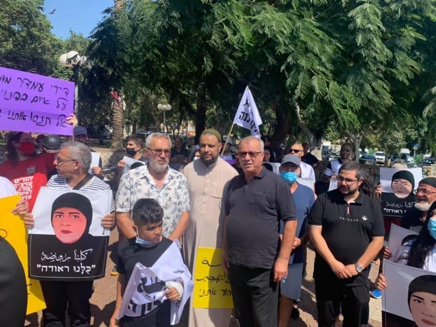 תושבים ביפו הפגינו נגד נישול דיירי חברת הדיור הציבורי עמידר מבתיהם
