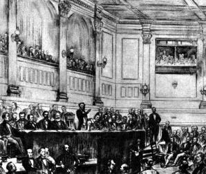 """ב-28 בספטמבר 1864 הוקם בלונדון האינטרנציונל הראשון ; הארגון הבינ""""ל הראשון של ארגוני הפועלים"""