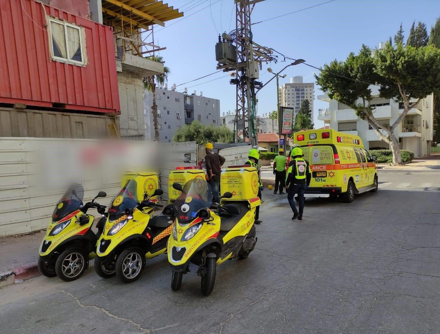נפטר פועל בניין פלסטיני לאחר שנפל מהקומה השישית באתר בנייה בטייבה